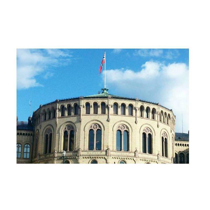 Oslo, Parliament. #VisitOslo #Norway #Parliament