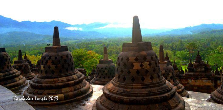 Top of the temple [Borobudur]