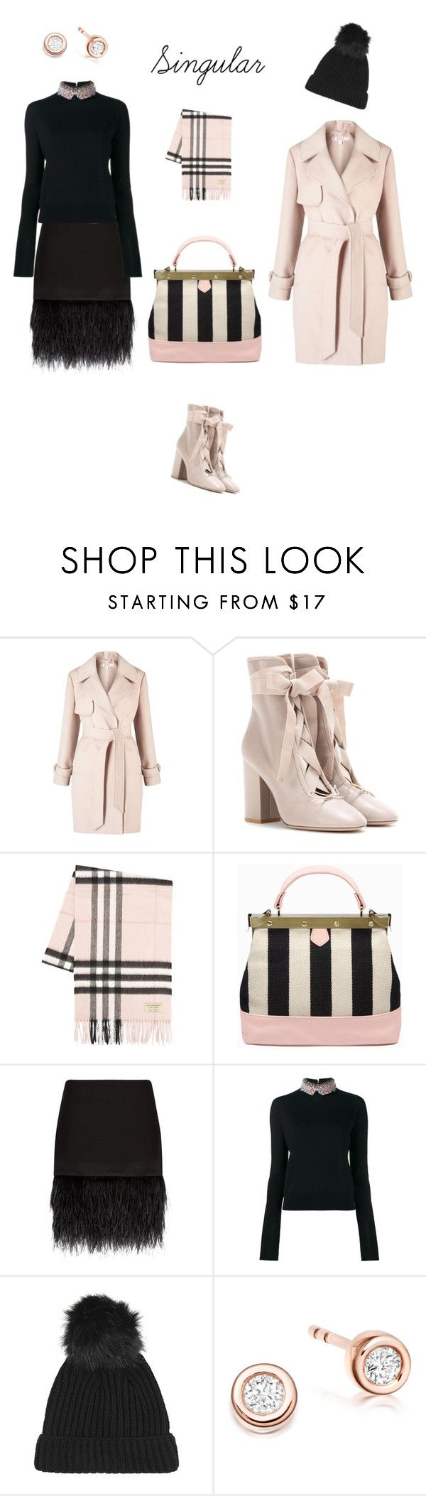 """""""Singular"""" by sony-effe ❤ liked on Polyvore featuring Miss Selfridge, Valentino, Burberry, Tammy & Benjamin, Polo Ralph Lauren, Marni and Topshop"""