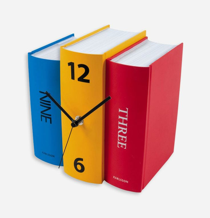 Table Clock Book Colour Paper by Karlsson, with its sophisticated design will give a unique touch to every interior, be it office or home. The elegant and colorful looks will complement any modern living or work space. http://www.zocko.com/z/JIifB