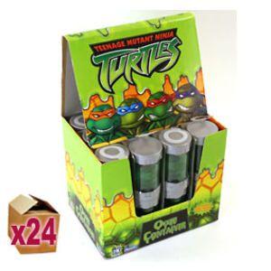 24 x Teenage Mutant Ninja Turtles Ooze Container + Figurine