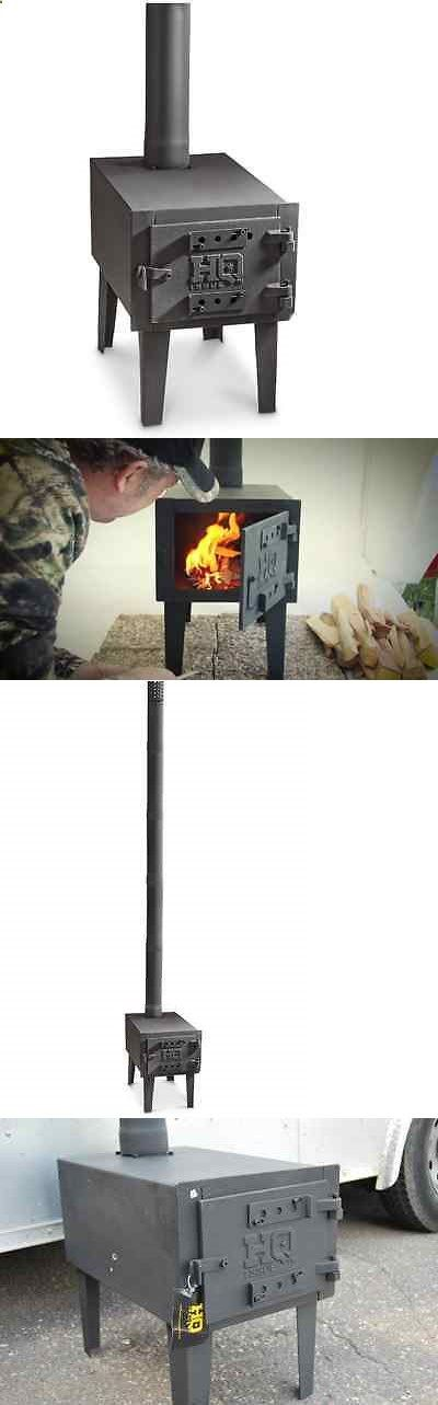 Camping Stoves 181386: Outdoor Wood Stove Camping Hiking Hunting Portable Heater Cook Tent Fireplace -> BUY IT NOW ONLY: $161.98 on eBay!