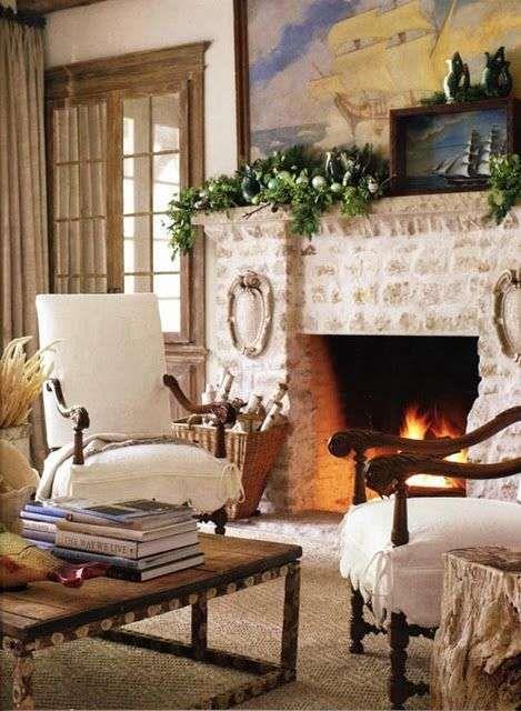 Arredare il soggiorno in stile toscano - Poltrone in stile