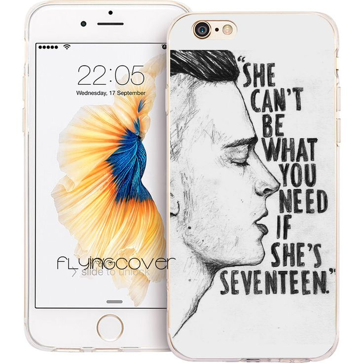 Coque The 1975 Band Transparent Clear Soft TPU Phone Cases for iphone 7 7Plus Case for iPhone 5S 5 SE 6 6S Plus 4S 4 Capa Cover.