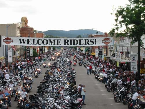 Yep I have been to Sturgis, though not on purpose!