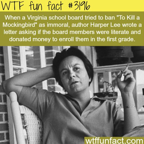 the banning of to kill a Banning 'to kill a mockingbird' because it makes you uncomfortable isn't how you learn posted oct 24, 2017 in better conversation garris landon stroud is a teacher in greenville, kentucky, and was recently named a 2017-18 kentucky state teacher fellow.