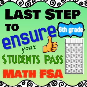 FSA Math Gridded Response Practice, 6th Grade Math FSA ...