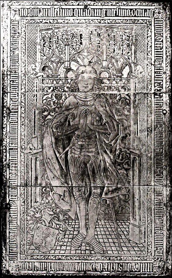 Feliks z Paniewa, kasztelan lwowski, +14.IX.1488 - dominikanie w Poznaniu: