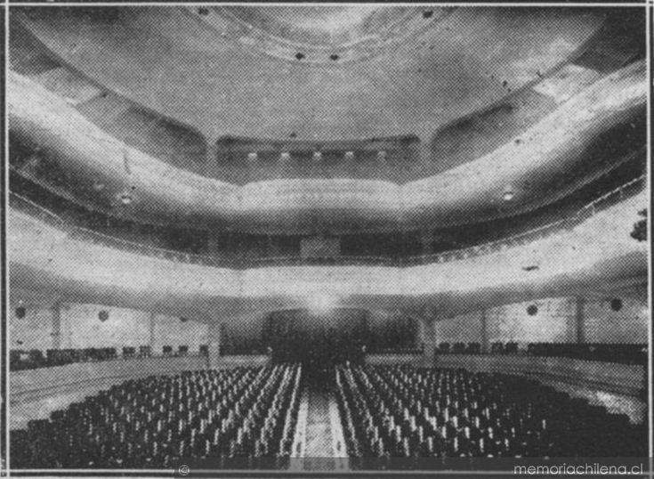 Interior del teatro imperio de valpara so 1922 chile for Picor en el interior del ano