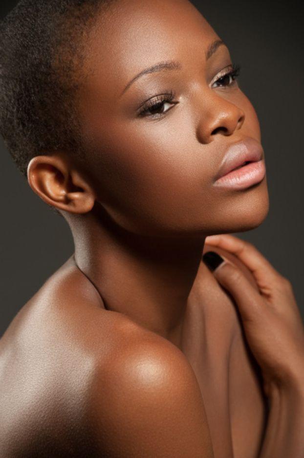 Beautiful Bald Headed Black Women Even Here I Found An