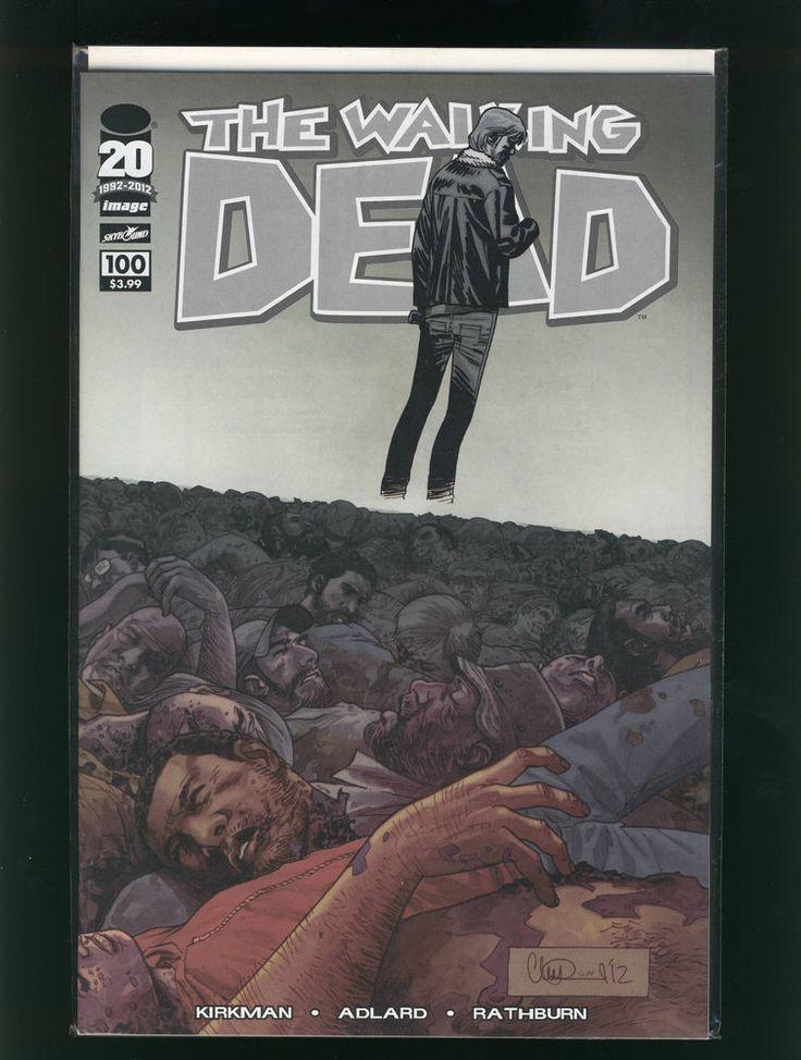 The Walking Dead #100 1st Negan; Death Glenn Adlard Wraparound Cover VF/NM