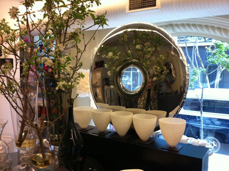 #zieta #stainless #steel #mirror  rondo mirror: https://shop.zieta.pl/pl,p,,17,rondo_inox_lustro.html