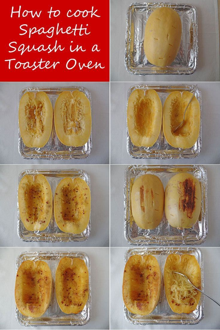 Cook spaghetti squash in your toaster oven.  Keep all of your fingers and still enjoy a perfectly seasoned full-flavored roasted spaghetti squash. Check out Toaster Oven Love for more toaster oven recipes.
