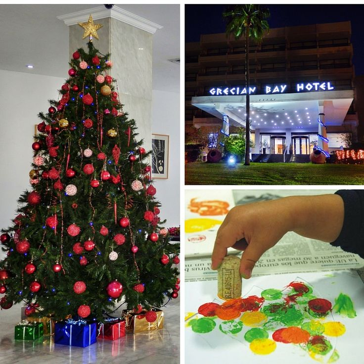 This holiday season give your children the gift of creative arts, like ‪Christmas‬ storytelling, card making and many more, at the Health Club of Grecian Bay Hotel Cyprus.
