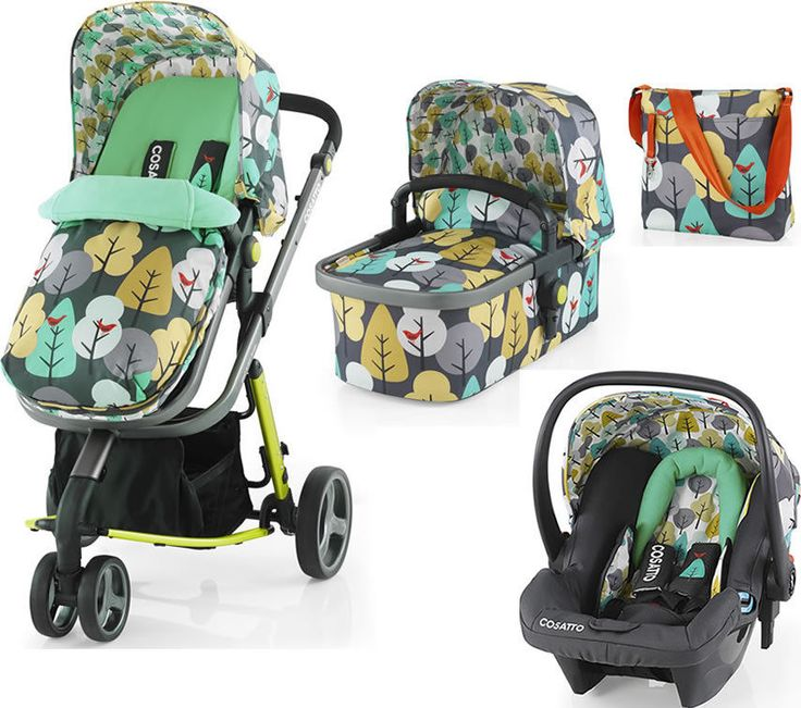 Brand new Cosatto Giggle 2 Hold 3 in 1 Travel System in FireBird With Car Seat