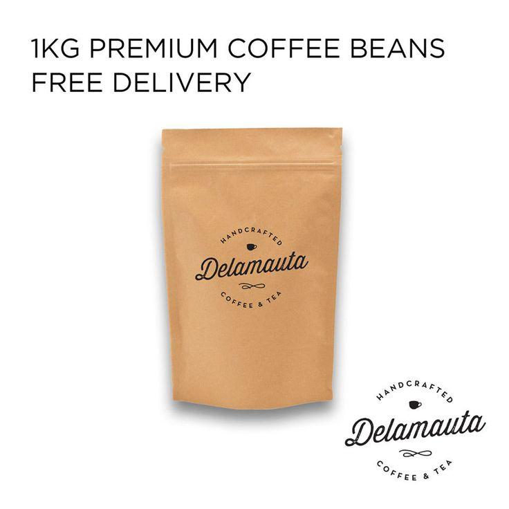 100% Fresh coffee beans 1kg PREMIUM ESPRESSO