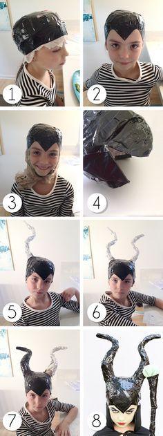 Disfraz de Maléfica - DIY Maleficent Costume. Cuckoo 4 Design