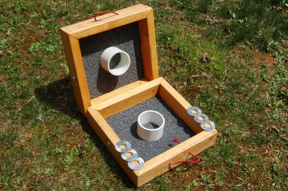 Custom-built Washer Toss Game Set by DigaDesigns on Etsy