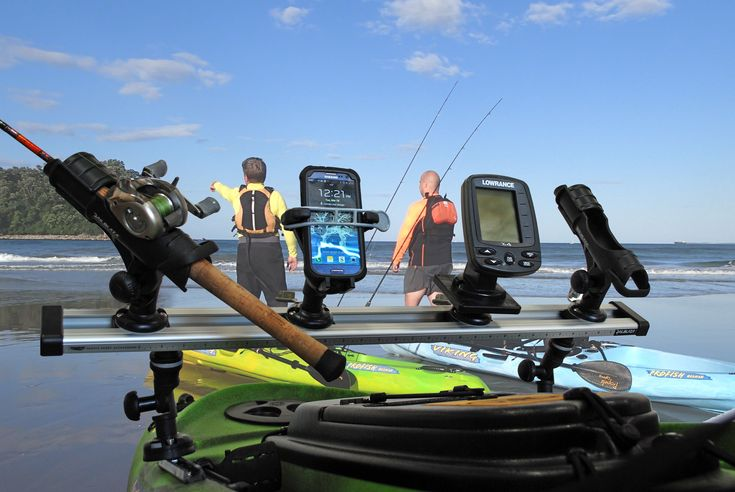 Tracks dashes and rigging bars are the new thing in for Kayak fishing accessories