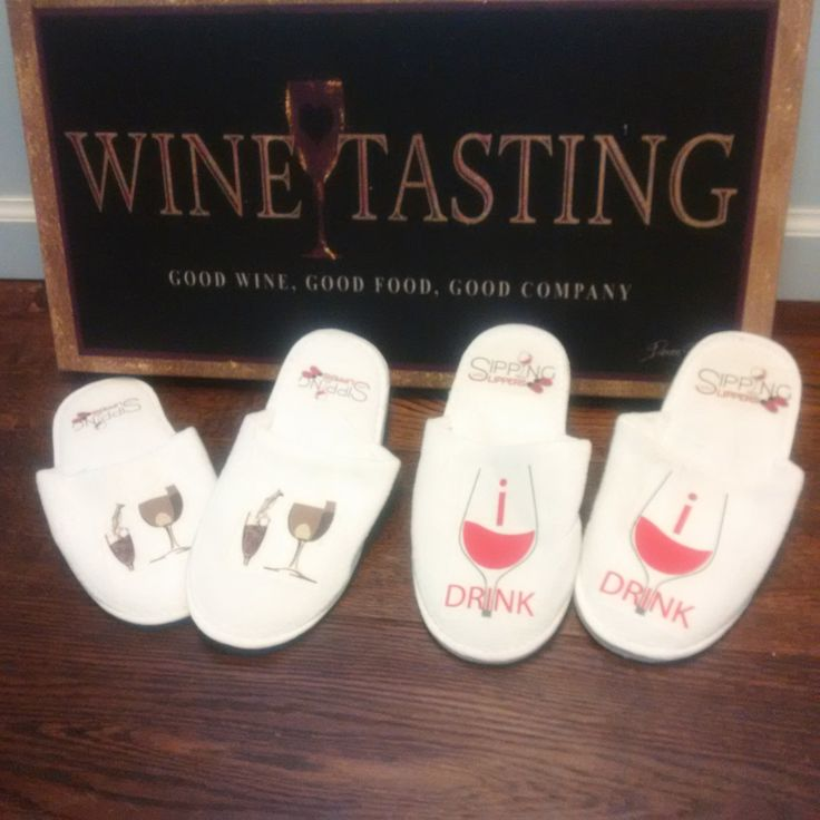 the sipping with slippers team is ready to do their next wine review - see them soon on Youtube