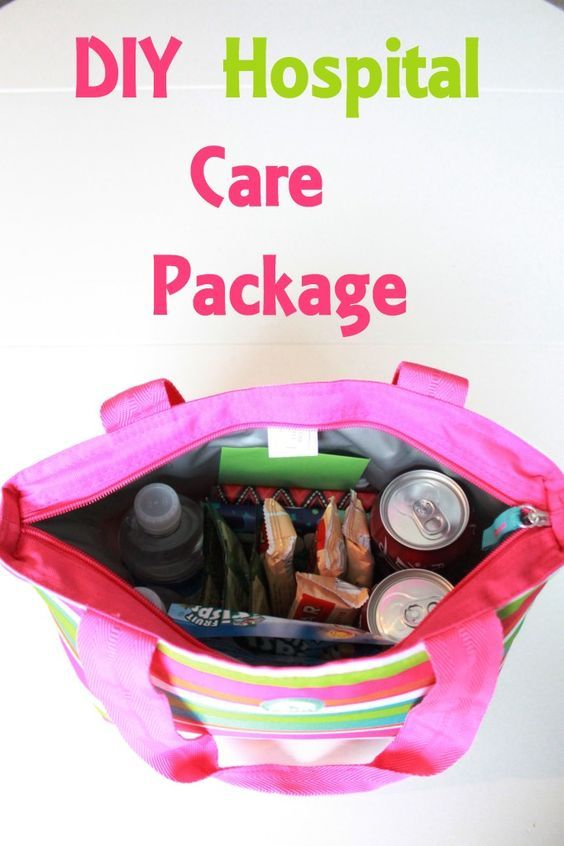 DIY Hospital Care Package ~ So easy and thoughtful...: