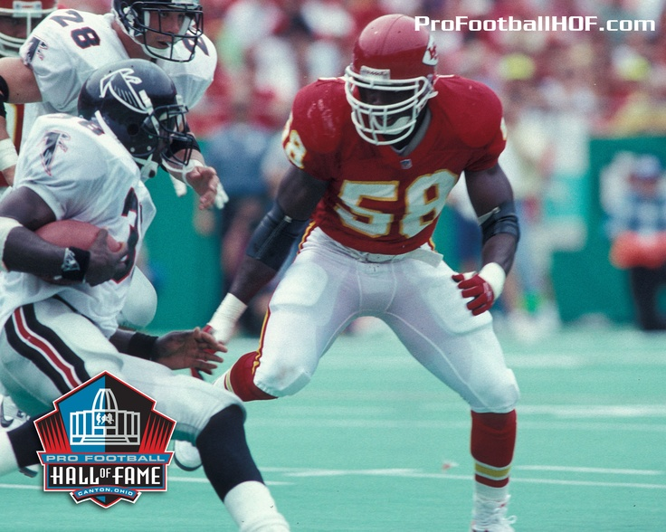 Jan. 1, 1967 - Derrick Thomas, Pro Football Hall of Fame Class of 2009, was born in Miami, Florida. Click on the image for Thomas' complete HOF bio. #Chiefs