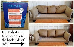 how to fix sofa saggy, home maintenance repairs, painted furniture