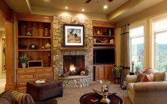 Latest Living Rooms With Fireplaces Gallery
