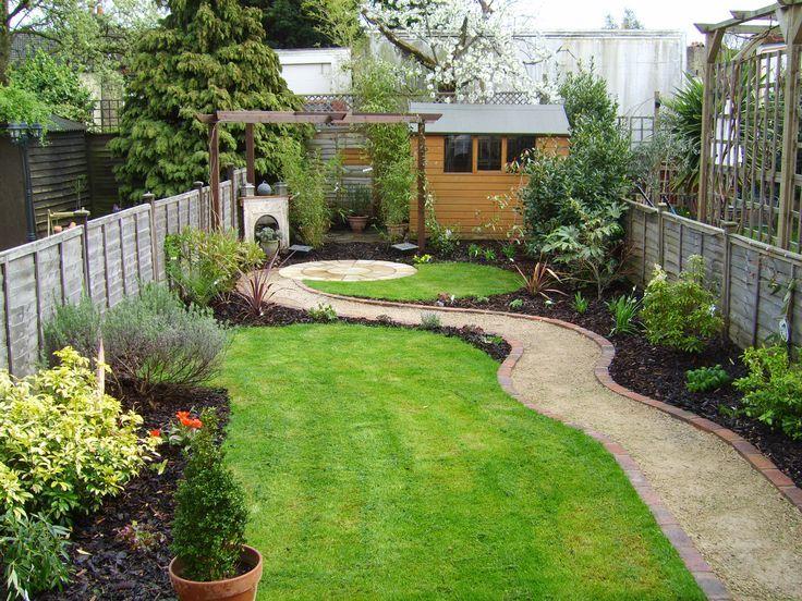 Kleiner garten der auch ein langer d nner garten war for Gartengestaltung langer garten