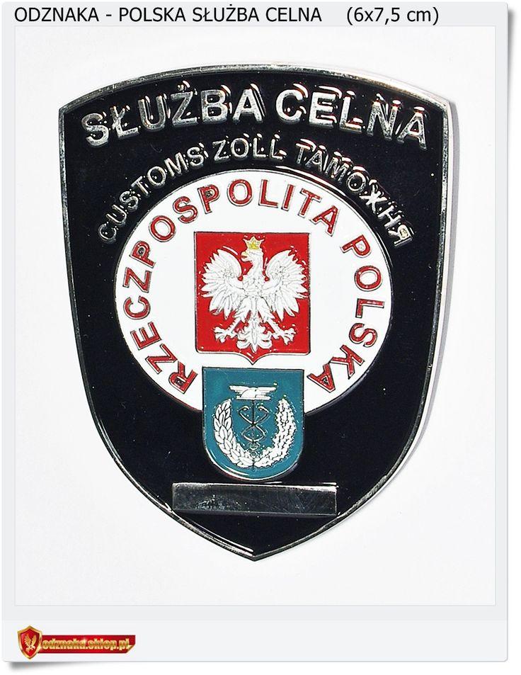 Służba Celna - Customs, Zoll, Odznaka kolekcjonerska