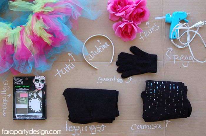 DIY-SugarSkullCostume-FaraPartyDesign-Supplies