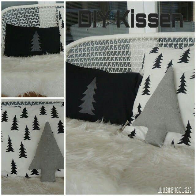 DIY Weihnachtskissen