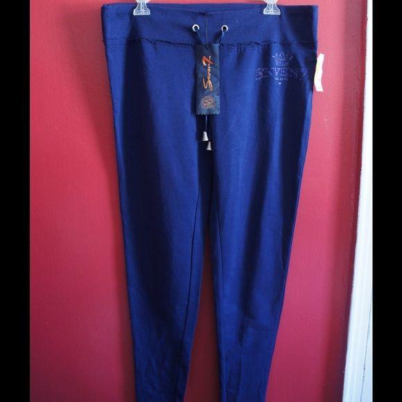 Blue Seven7 leggings in Large NWT New never worn leggings by Seven7 Seven7 Pants Leggings
