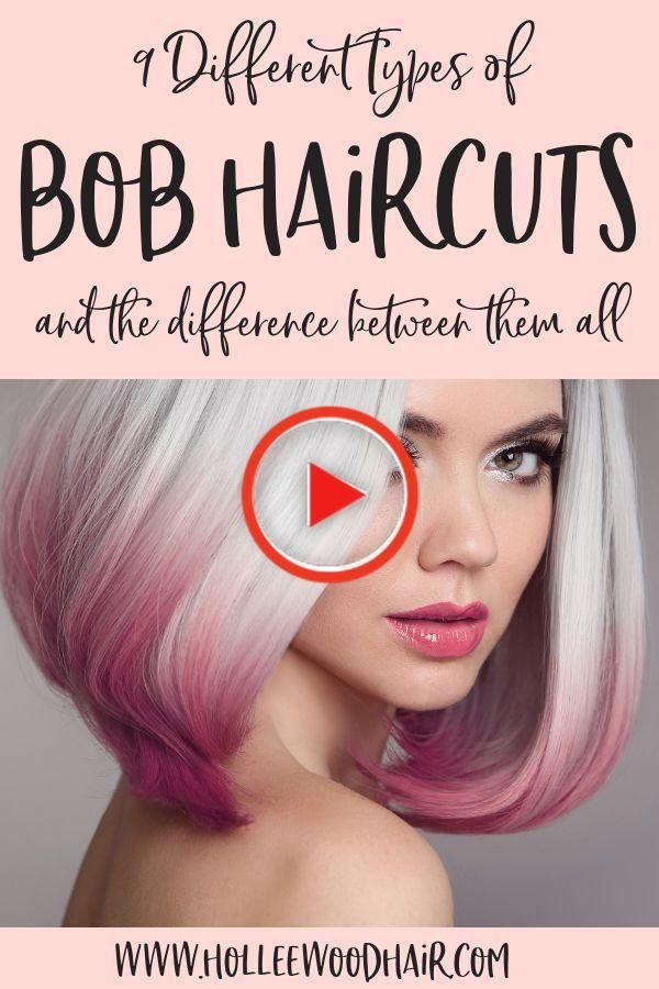 28++ Different types of bob haircuts trends