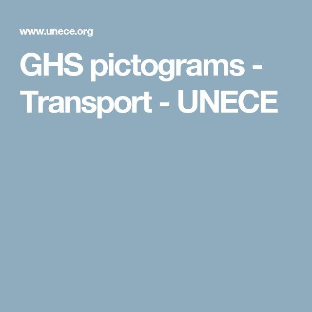 GHS pictograms - Transport - UNECE