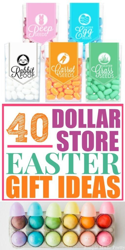 317 best easter ideas images on pinterest easter food food and 40 diy dollar store easter gift ideas negle Gallery