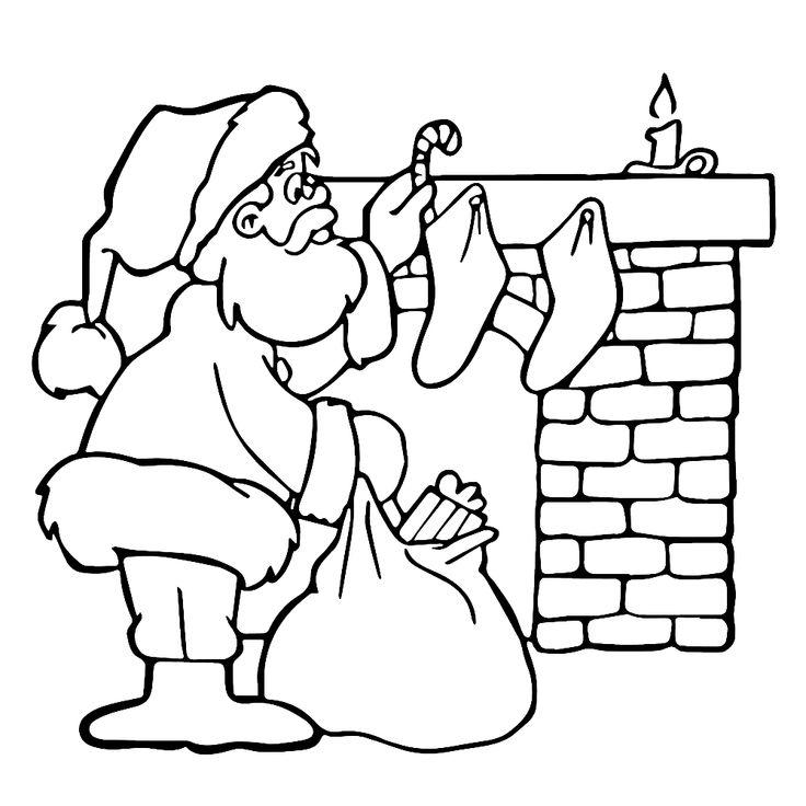 Sinterklaas Kleurplaat Kleuters Leuk Voor Kids Kleurplaat Kerstmis Kleurplaten Kerstmis