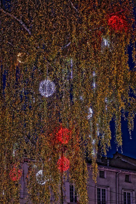 Limoges à Noël #Limoges Noël #Christmas #Limousin #town #night
