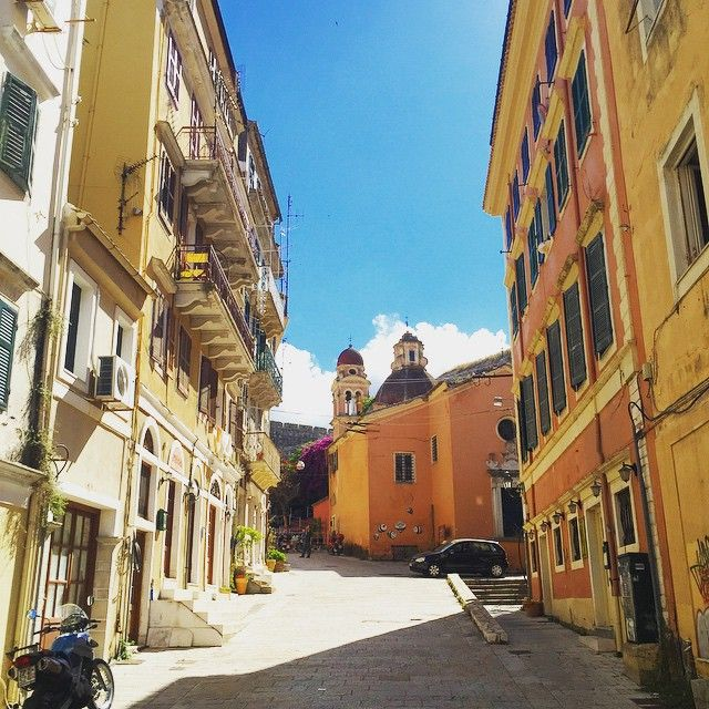 Old Town of #Corfu  Photo credits: @patrickvdbos1