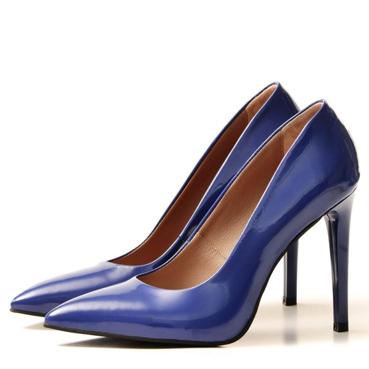 BLUE Stiletto shoes - romanian designers SHOP ONLINE