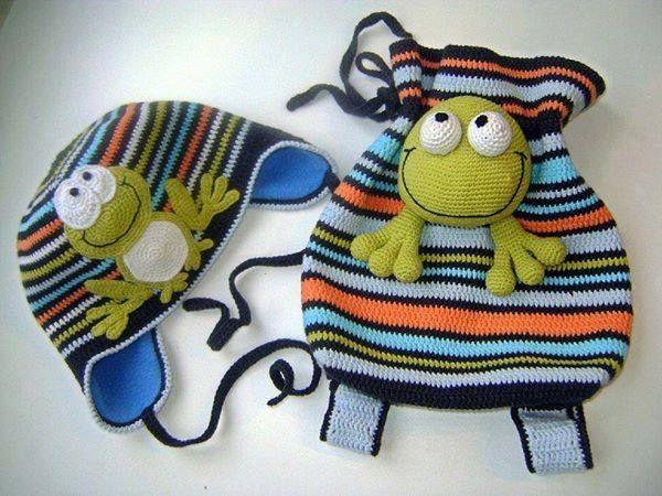 Handmade Kids Bags (64) - Knitting, Crochet, Dıy, Craft, Free Patterns