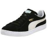 PUMA Men's Suede Sneaker,Black/White,6 M US (Apparel)By PUMA