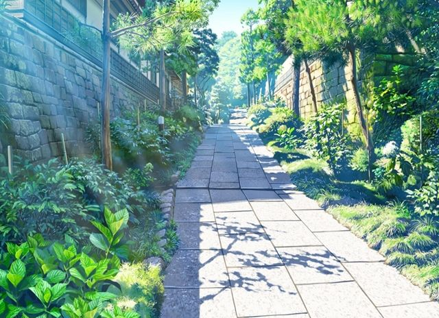 Image result for anime scenery