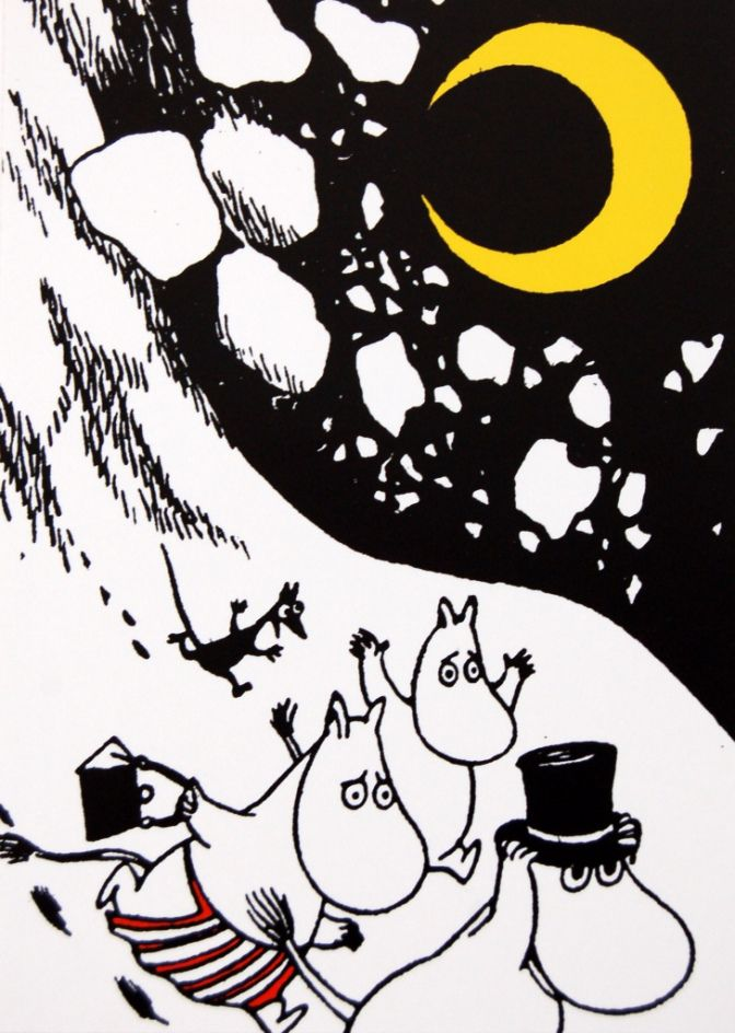 Tove Jansson knew a thing or two about merchandising. Like a one woman Nordic Disney she was, as early as the mid 50s selling handkerchiefs, piggy banks, dustbins, suspenders and marzipan Moomins. …