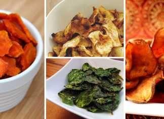 6 receptů na zdravé zeleninové chipsy