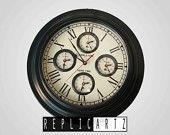LIVERPOOL & LONDON world clock antique replica by replicartz on Etsy, $72.00 USD  www.replicartz.com