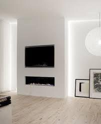 Znalezione obrazy dla zapytania telewizor nad biokominkiem