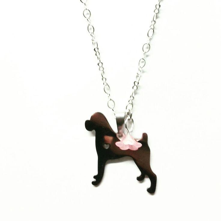 #dog #boxer #heart #love #cuore #cane #bijoux #jewerly #handmadeinlove #handmade #madewithlove #flower #woman