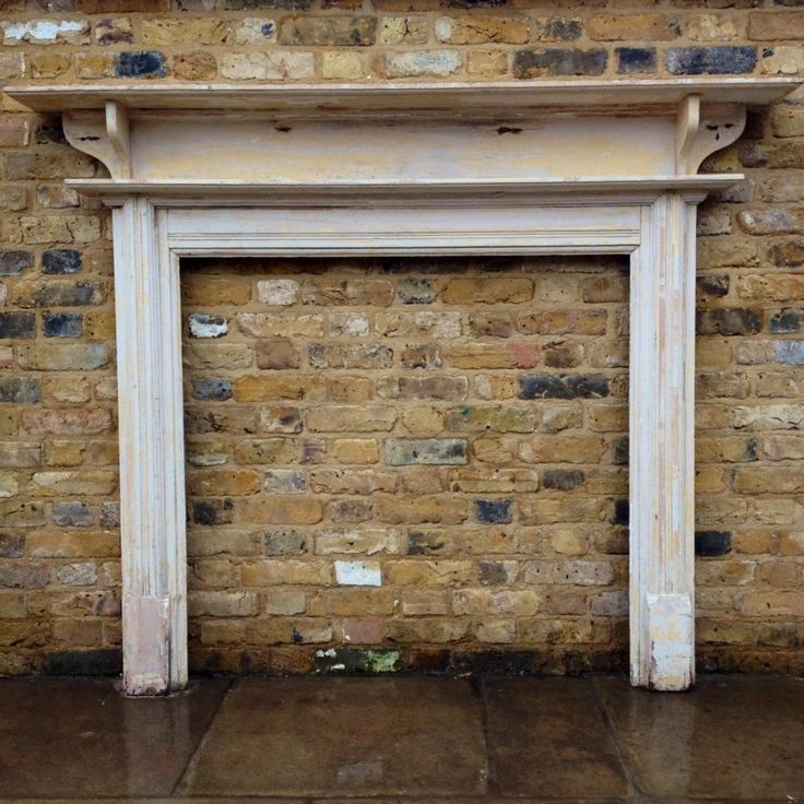 Antique Reclaimed Edwardian Wooden Fire Surround For Sale On Salvoweb From V V Reclamation In