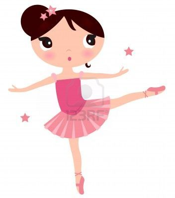 Beautiful little ballerina girl. #123rf #cartoon #illustration